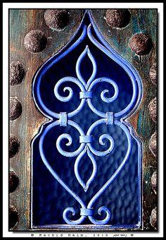 Behind a Moroccan Door -