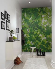 Hey, look at this wallpaper from Rebel Walls, Maple Leaves! #rebelwalls #wallpaper #wallmurals