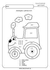 Traktor - počítame do 5