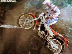 Kiyoteru Hattori Honda 1984