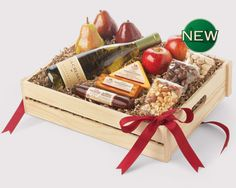 Shop Toast the Traditions and Wine Gift Baskets from Hickory Farms