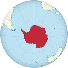 Antártida roja