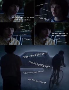 Stranger Things Theme, Stranger Things Characters, Stranger Things Funny, Will Byers, Don T Lie, You Have Been Warned, I Ship It, Cute Gay, Couple