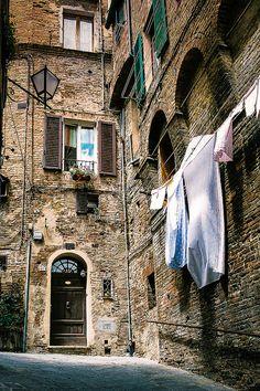 City Life in Siena, Italy. | by © Ervine Lin | via ysvoice