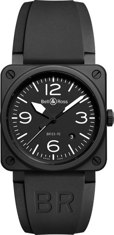 Bell and Ross BR03-92 Ceramic Black Matte