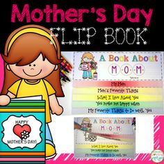 Celebrate Mother's Day with this fun flip book. Makes a great Mother's Day gift!Flip book contains a cover and 4 pages with fun designs for students to color and lines for writing about their mom:-Mom's Favorite Things-What I Love About You-You Make me Happy When..-My Favorite Things to Do with YouThere is a boy and a girl version.