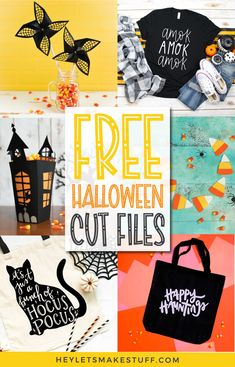 Halloween Quilts, Halloween Crafts, Halloween Fashion, Halloween 2020, Halloween Ideas, Teal Pumpkin Project, Halloween Treat Boxes, Silhouette Projects, Silhouette Cameo