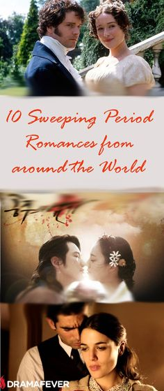 Do you enjoy epic historical romances? Here are 10 must-see period dramas from all around the world!