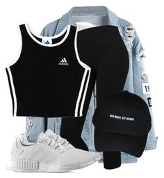Untitled #3446 by xirix on Polyvore featuring polyvore, fashion, style, adidas and clothing