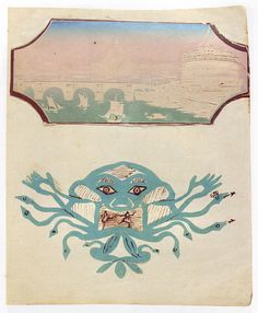 h. c. andersen | medusa | agnete lind picture book, 1854 | by 50 Watts, via Flickr