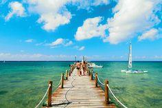 #Finnmatkat LänsiKaribian risteily ja hotelli Gran Bahia Principe Akumal & Coba  #Finnmatkat Riviera Maya Mexico, The Good Place, Sun, Beach, Water, Places, Summer, Outdoor, Bahia