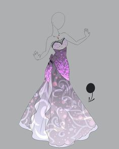 super pretty cute dresses in anime easy to battle in Dress Drawing, Drawing Clothes, Drawing Drawing, Drawing Ideas, Fashion Design Drawings, Fashion Sketches, Anime Outfits, Vestidos Anime, Anime Dress