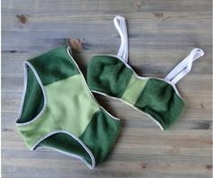 Custom cashmere lingerie set  made to measure  washable by econica, $140.00