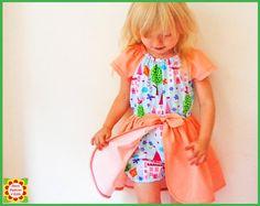 Princess Romper Dress Sewing Pattern for by DressPatterns4Girls, $6.90