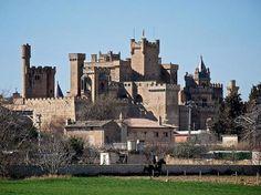 Castillo-Palacio Real de Olite, Spain