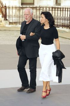David Gilmour and Polly Samson Photo - The Royal Academy of Arts' Summer Exhibition Preview Party in London
