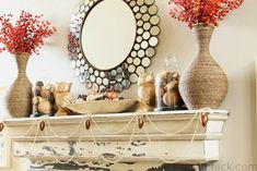 35 Fabulous Fall Mantels - The Cottage Market