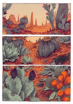 Thomke Meyer Illustration — wasteland