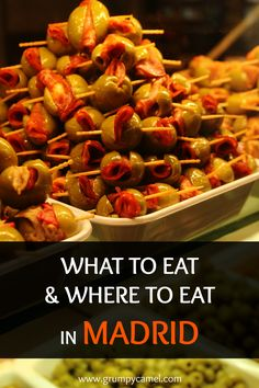 Madrid Food Guide | What To Eat & Where To Eat in Madrid