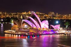 Sydney Harbour VIVID Lights Cruise Immerse yourself inthe best of Sydney's Vivid Festival on a 75-minute cruise around Sydney Harbour that will offer the best light show experience available. Cruising aboard a beautiful two level catamaran with three large open deck viewing areas, you can soak up the atmosphere and see Sydney from a unique perspectives with unbeatable photo opportunities of the Sydney Opera House and the Sydney Harbour Bridge.Your 75 minute cruise departs fro...