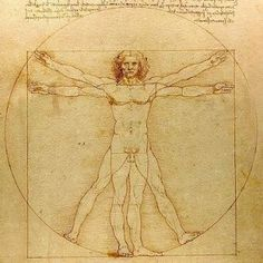 Vinci da, Leonardo Vitruvian Man (c. demonstrates the effect writers of Antiquity had on Renaissance thinkers. Based on the specifications in Vitruvius' De architectura century BC), Leonardo tried to draw the perfectly proportioned man. Leonardo Da Vinci Pinturas, Leonardo Da Vinci Dibujos, Leonardo Da Vinci Biography, Renaissance Kunst, Renaissance Men, Renaissance Humanism, Renaissance Artists, Da Vinci Vitruvian Man, Renaissance