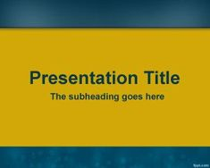 Free PPT Slide PowerPoint with yellow and blue colors Simple Powerpoint Templates, Powerpoint Themes, Background Hd Wallpaper, Instagram Frame, Minimal Design, Presentation, Blue Colors, Design Inspiration, Tattoo