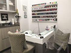 9 Nail Table Ideas Home Nail Salon Nail Salon Decor Nail Salon Design