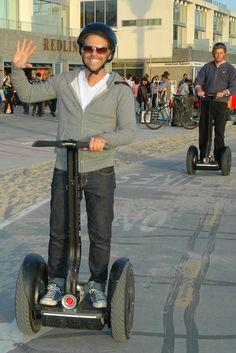 A Segway tour on Venice Beach.  How fun.