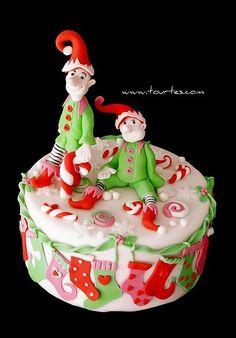@Katiesheadesign Likes --> Elves #Cake