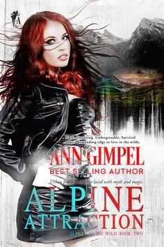 Cover art for Ann Gimpel's Alpine Attraction; art by fionajaydemedia.com  #coverart #books #bookcovers #bookcoverart #coverartwork #coverartist #bookdesign #bookdesigner #fionajayde #fionajaydemedia