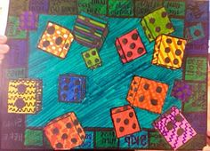 DMS ART: 6th Grade One-Point Perspective Objects