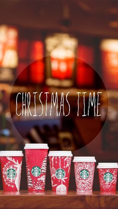Christmas Starbucks Wallpaper/Background for iPhone and Android