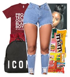 """Food x Lyfe"" by trillest-kid ❤ liked on Polyvore featuring Timberland and Dsquared2"