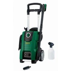 The Gerni Super 130.3 electric washer is has the power for any pressure cleaning task around the home. The powerful 2.1kW induction motor, 1885psi and waterflow of up to 8.3L/min mean this pressure cleaner has what it takes to clean your retaining walls, driveways, decks, garden furniture, vehicles and boats.