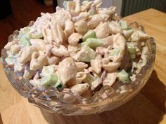 The Way Grandmama Does It: Ranch Tuna -n- Shells Pasta Salad