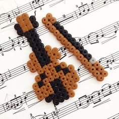 Violin perler beads by june_noh
