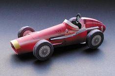 Tektonten Papercraft - Free Papercraft, Paper Models and Paper Toys: Maserati Race Car Papercraft