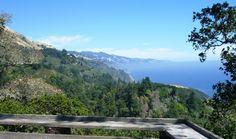 """Radio filled my childhood on the wild coast of California."" ~Kaffe Fassett.    Nepenthe, Big Sur, California"