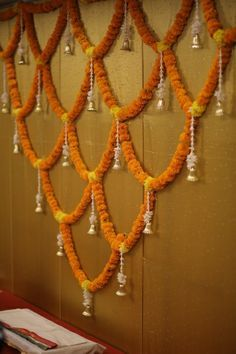 30 Dazzling Diwali Decorations DIY Ideas to Brighten-Up Your Home Check latest Diwali Decorations DI Ganpati Decoration At Home, Diwali Decorations At Home, Decoration Evenementielle, Marriage Decoration, Background Decoration, Wedding Stage Decorations, Backdrop Decorations, Flower Decorations, Indian Decoration