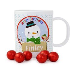 Personalised Snowman Childrens Plastic Safety Cup Your children will love our Polymer Plastic cups they are ideal for both indoors & Outdoors