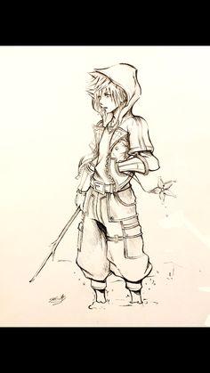 Kingdom Hearts III art. Sora, Master of Friendship. This is fantastic!