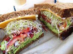 Naturally Fresh Avocado Sandwich