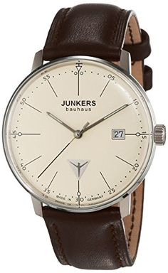 Junkers Herren-Armbanduhr XL Bauhaus Analog Quarz Leder 60705 Junkers http://www.amazon.de/dp/B006DDHQOQ/ref=cm_sw_r_pi_dp_C-2iwb1CAA81Y
