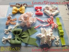 Making bows tutorial