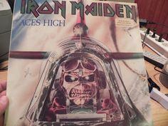 IRON MAIDEN-MAIDEN MANIA 5X12'' BOX SET LIMITED EDITION RELEASED IN LATE 80s INCLUDING: WOMEN IN UNIFORM, RUNNING FREE, ACES HIGH, RUN TO THE HILLS, WATED YEARS-12''