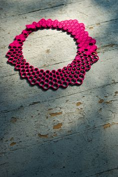 TLC: 100% Wool Felt Necklace