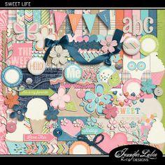 Sweet Life :: Full & Mini Kits :: Memory Scraps