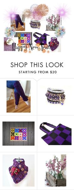 """Happy New Year!"" by fivefoot1designs ❤ liked on Polyvore"