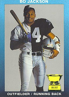 Bo Jackson, 1990 special edition (Bo Week, No. Old Football Players, Raiders Football, Nfl Oakland Raiders, Sport Football, Football Cards, Giants Players, Nfl Sports, Baseball Cards, Pittsburgh Steelers