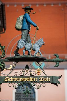 "Schwarzwalder Bote by SafariBear Photography / Architecture / Other  ©2011-2014 SafariBear Sign of the office of the newspaper ""Schwarzwälder Bote"" [Black Forest Messenger], in Rottweil, Germany."
